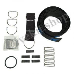 Secure Harness Webbing Kit, includes Stainless Steel Hardware