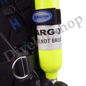 Mounting Straps for 6cf Dry Suit Inflation Bottle