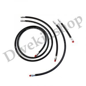 Double Tank & Stage Hose Kit consists of Reg 84, 22, SPG 24, 6